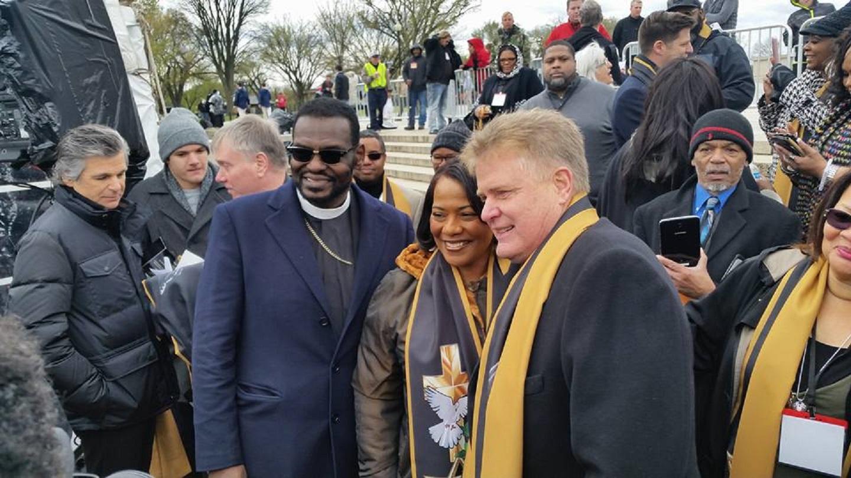 Bishop Jackson Bernice King Dr. Jim Garlow